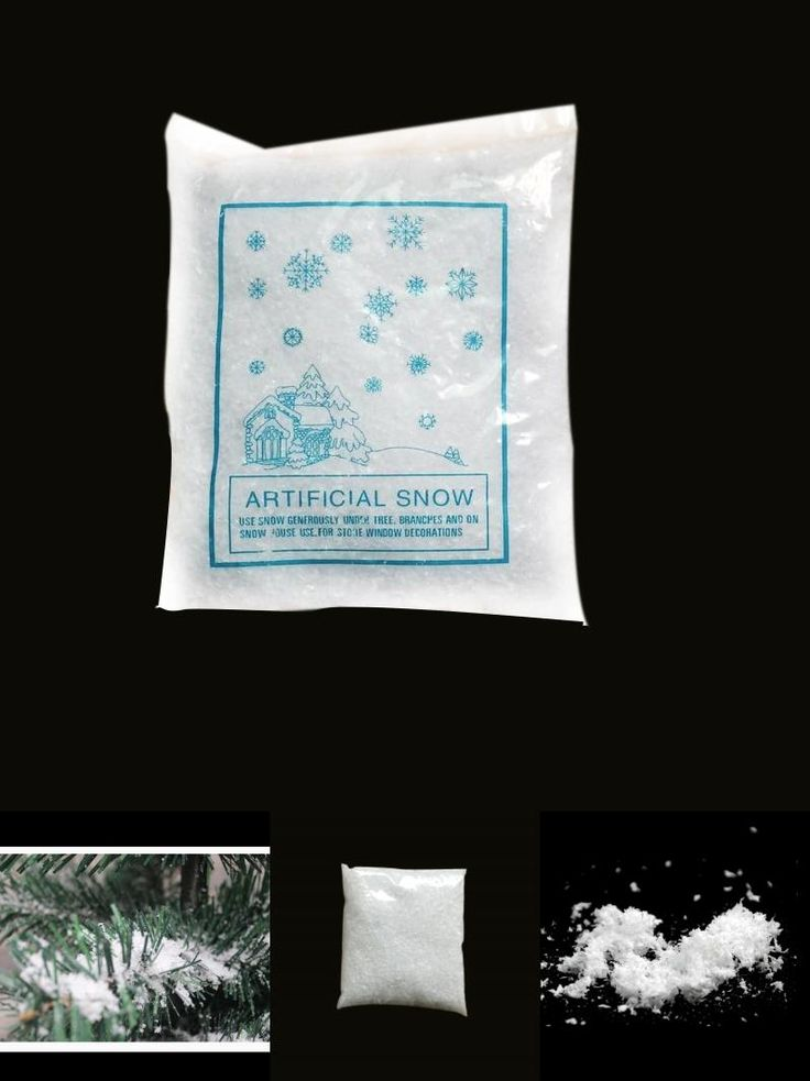[Visit to Buy] Christmas Tree Decorations 2017 Instant Xmas Magic Snow Powder For Xmas Christmas Home Decoration Artificial Snow Scene Navidad #Advertisement
