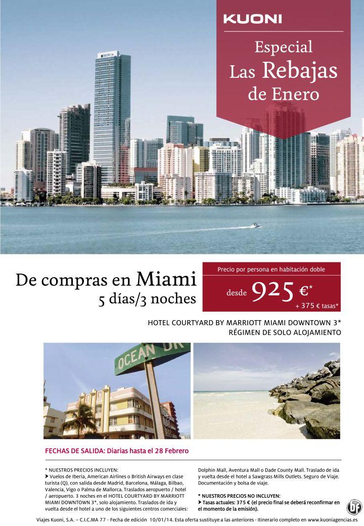Las Rebajas de Enero - De compras en Miami desde 925 € + tasas ultimo minuto - http://zocotours.com/las-rebajas-de-enero-de-compras-en-miami-desde-925-e-tasas-ultimo-minuto/