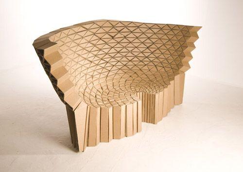 Richard Sweeney Cardboard Sofa