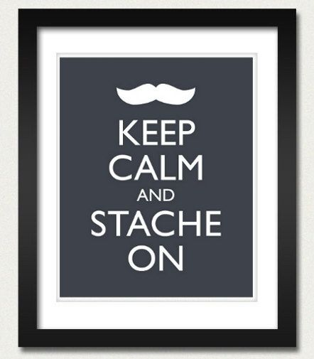 Mustache Poster http://www.teen.com/2012/04/03/random-stuff/diy-mustache-items-on-etsy/#
