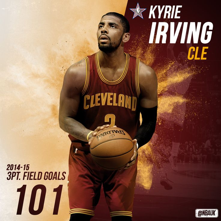 Kyrie Irving field goal stats before NBA All-Star 3 Point Competition 2015