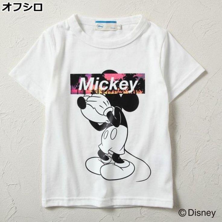「ミッキー Tシャツ」の画像検索結果
