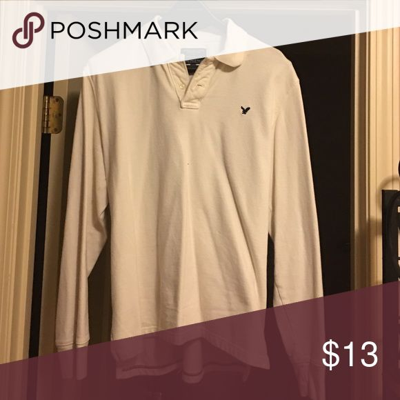 Men's long sleeve polo In great condition! No tears or stains! American Eagle Outfitters Shirts Polos
