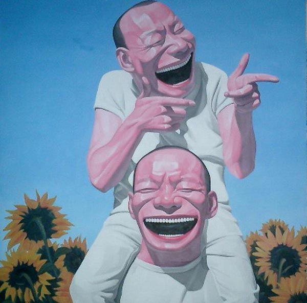 Grinning Self Portraits - The Art of Yue Minjun