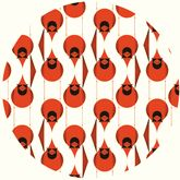 Charley Harper for Birch Fabrics Organic - Love the cardinals in this fabric collection