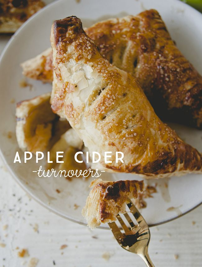 APPLE CIDER TURNOVERS // SPONSORED BY CRISPIN