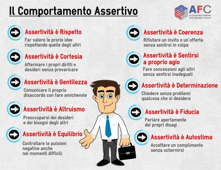 Il Comportamento Assertivo. #assertività #comunicazione http://www.afcformazione.it/tecniche-di-comunicazione/comunicazione-assertiva/