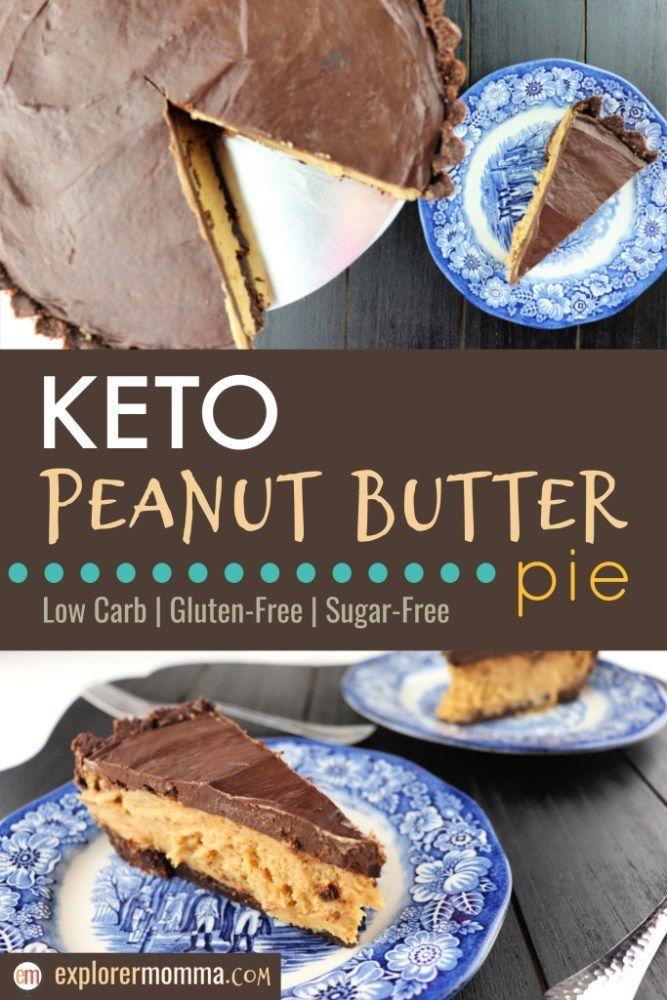 Keto Peanut Butter Pie Recipe Butter Pie Dessert Recipes Low