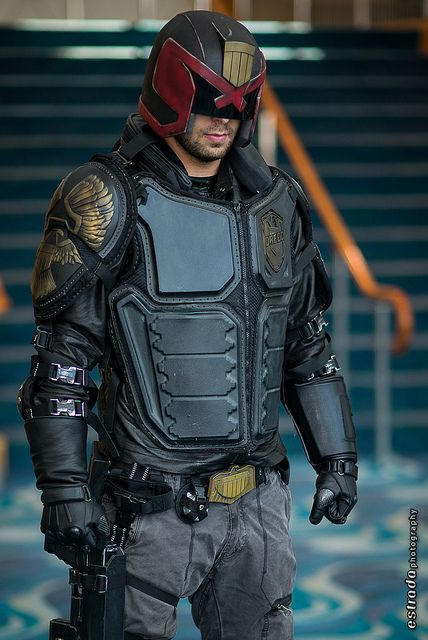 Judge Dredd, photo by Erik Estrada.