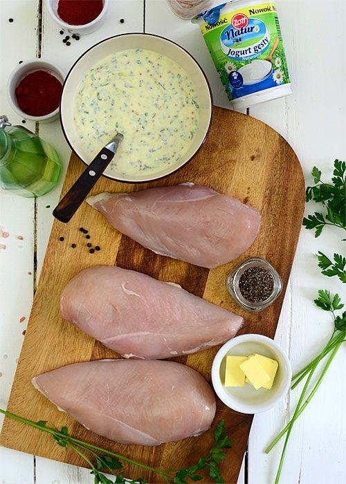 Piersi kurczaka w sosie jogurtowo-musztardowym  - etap 2