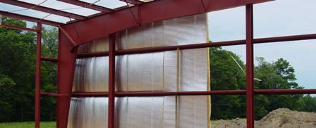 Reflective Insulation Fights Heat: Airspaces and reflectors create thermal resistance