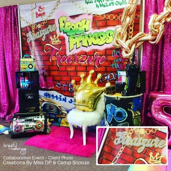 Fresh Prince Fresh Princess Backdrop Banner Remix 1 Fully