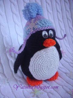 Яtinka - дело рук: Пингвиненок Пинни. Описание.