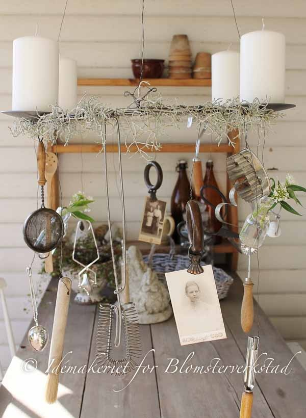Blomsterverkstad K Kskrans Primitive Home Decor Pinterest