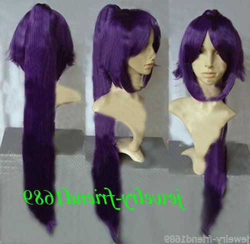 33.95$  Watch now - https://alitems.com/g/1e8d114494b01f4c715516525dc3e8/?i=5&ulp=https%3A%2F%2Fwww.aliexpress.com%2Fitem%2FHOT-sell-Free-Shipping-SCosplay-Death-BLEACH-Dark-Purple-Straight-Heat-Wig-One-Clip-on-Ponytail%2F32648077455.html - HOT sell Free Shipping SCosplay Death BLEACH Dark Purple Straight Heat Wig + One Clip on Ponytail 33.95$