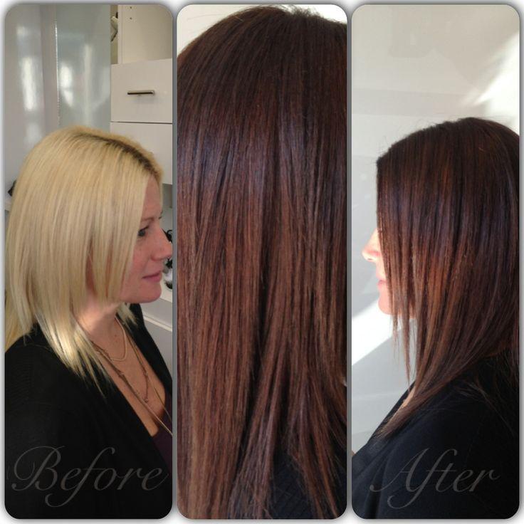 Fall Chestnut Brown Stylist Keri Unger Hair Brunette