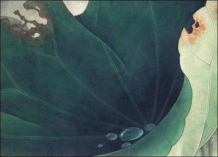 Мобильный LiveInternet Капли росы. Лотос. Ли Сяомин (李晓明) Часть - 1 | alona777 - Удивительный мир Росписи. |