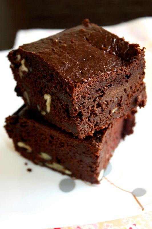 Gâteau au chocolat et aux noix (vegan)