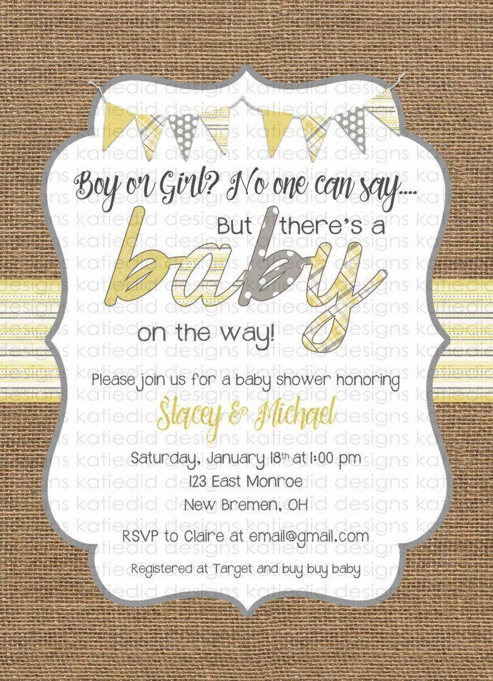 Best 25+ Invitations baby showers ideas on Pinterest ...