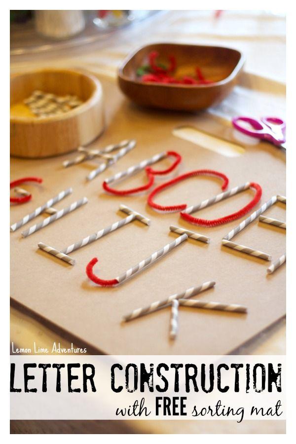 Playful Learning: Letter Formation