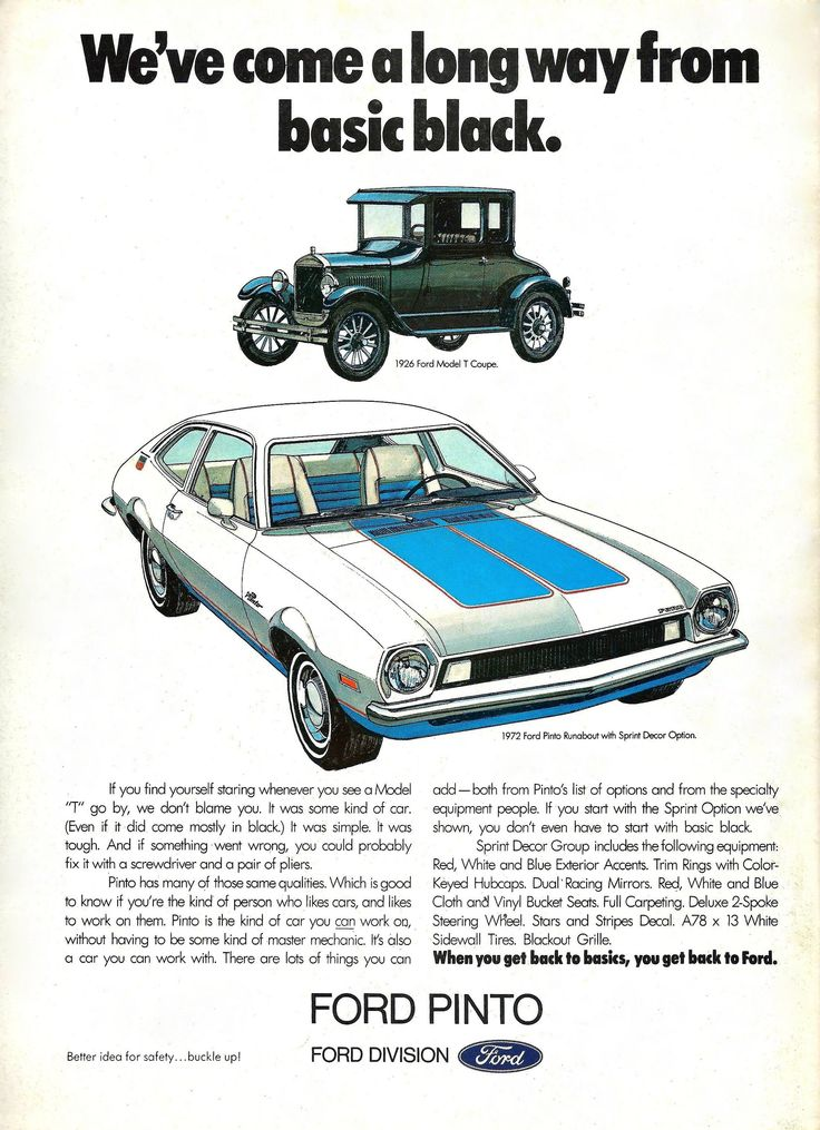 "ford pinto paper Find great deals on ebay for ford pinto in other shop with confidence original 1971 ford"" paper ad gran torino, pinto and ford recreation vehicles a."