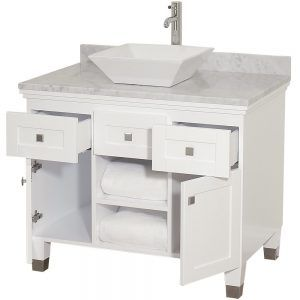 36 bathroom vanity without top. white 36 bathroom vanity without top