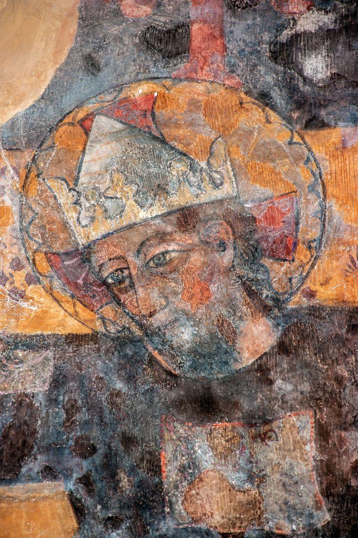 Pittore del XV se. Cristo Re e Sacerdote, Monteleone di Spoleto, Chiesa di S. Francesco