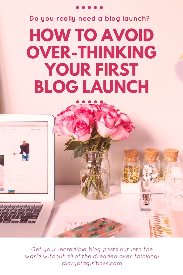 Are you unsure of how to launch your blog to the public? Are you worried it's not good enough? Put your swim goggles on because we're diving in deep! Read the full post or pin for later and learn how you can avoid over-thinking your blog launch!