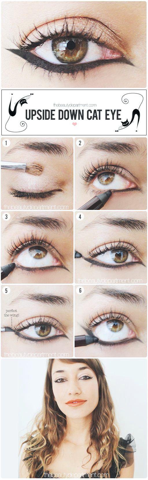 10 Tutorials zur Herstellung fehlerloser Eyeliner