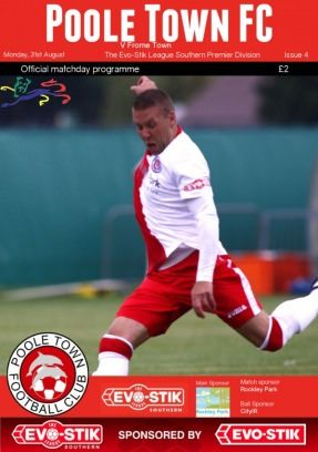 Get your digital edition of Poole Town Official Matchday Programme Magazine subscriptions and issues online from Magzter. Buy, download and read Poole Town Official Matchday Programme Magazine on your iPad, iPhone, Android, Tablets, Kindle Fire, Windows 8, Web, Mac and PCs only from Magzter - The Digital Newsstand.