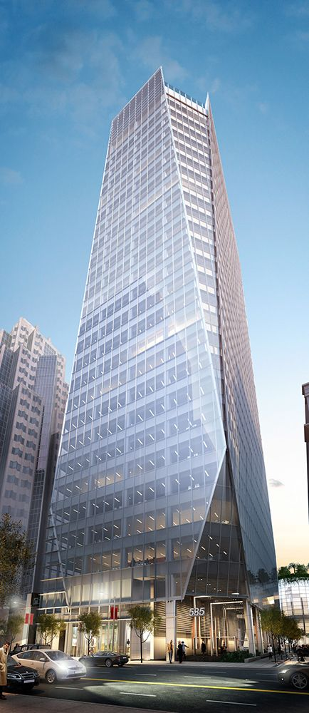 535 Mission Street | San Francisco, California, USA | The slender urban form of this Class A office tower will transform the South of Market (SoMa) district of San Francisco.
