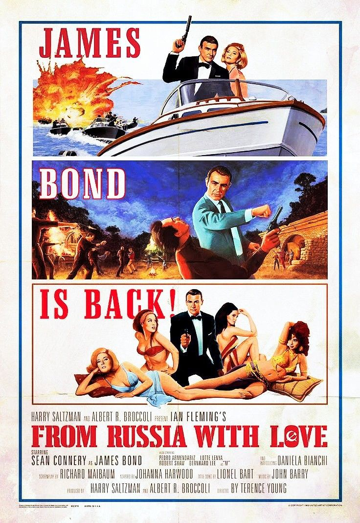 From Russia With Love Is A 1963 Spy Film Directed By Terence Young