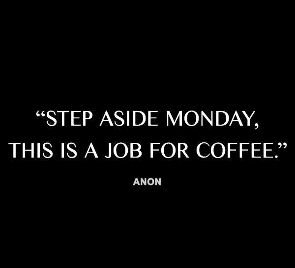 Monday morning coffee #coffeefirst #coffee #mondaycoffee #starttheweek
