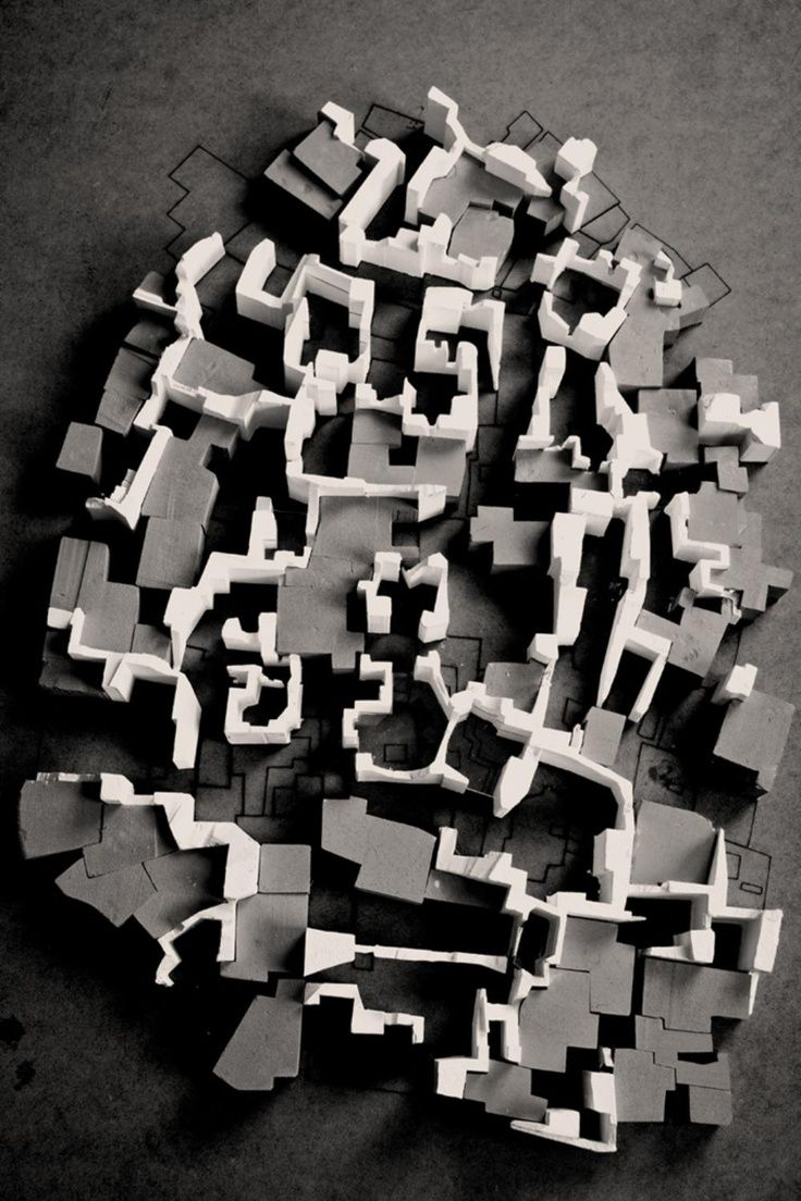 architectural model, maquette, modulo Definitely wanna do something like this together.    颜色对比