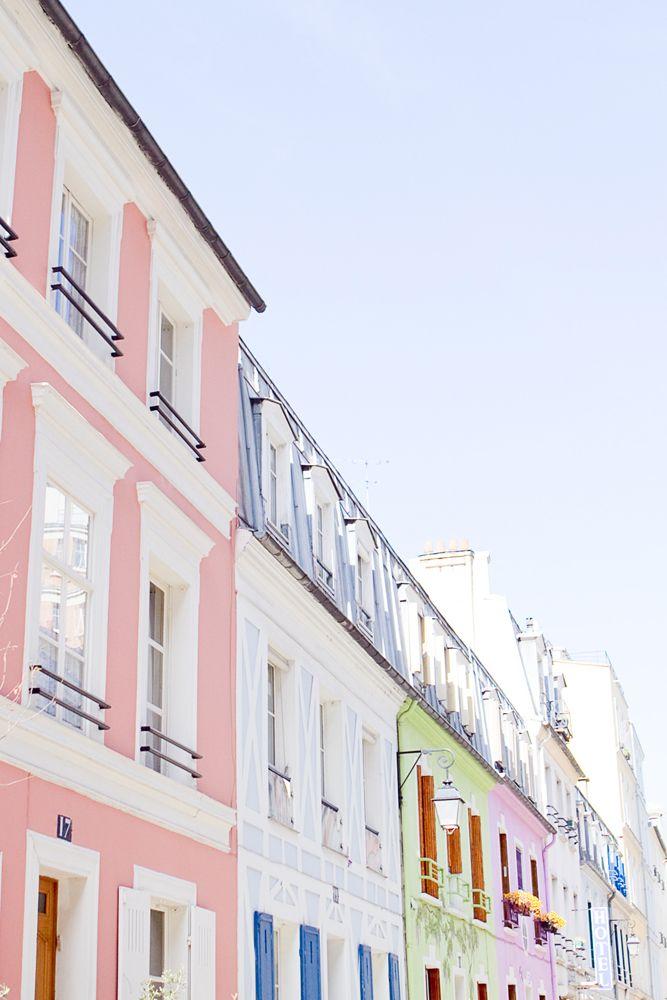 Paris, Rue Crémieux.