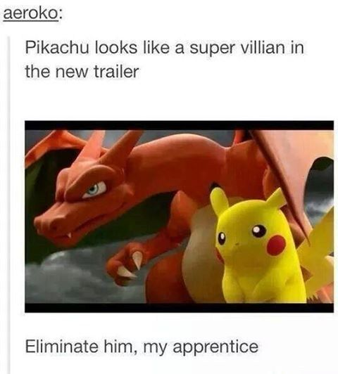 I Knew It, Pikachu is Evil.