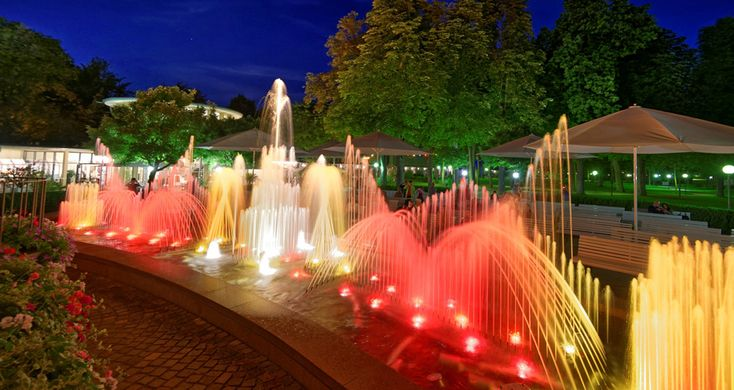 Kurpark - ein Highlight in Bad Mergentheim - Der Kurpark