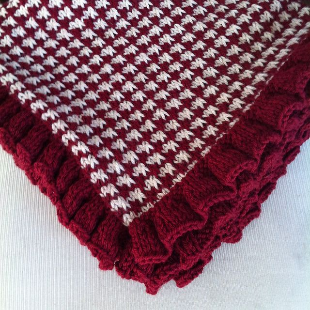Ravelry: Project Gallery for Houndstooth Blanket pattern ...