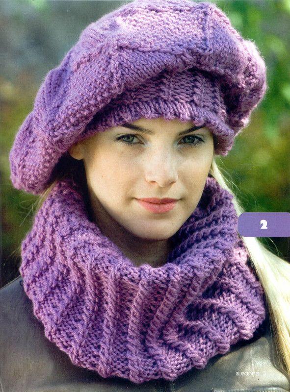 Bayan Atkı Bere Modelleri Bayan Atkı Bere şapka Modelleri 2013
