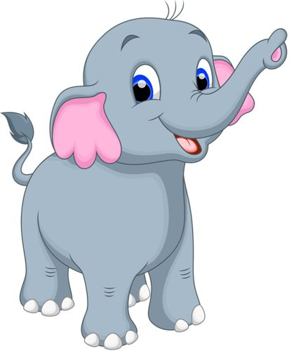 cartoon elephant vector 12 png elephant rh pinterest com elephant cartoon images free elephant cartoon images free