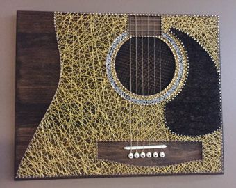 Guitar String Art