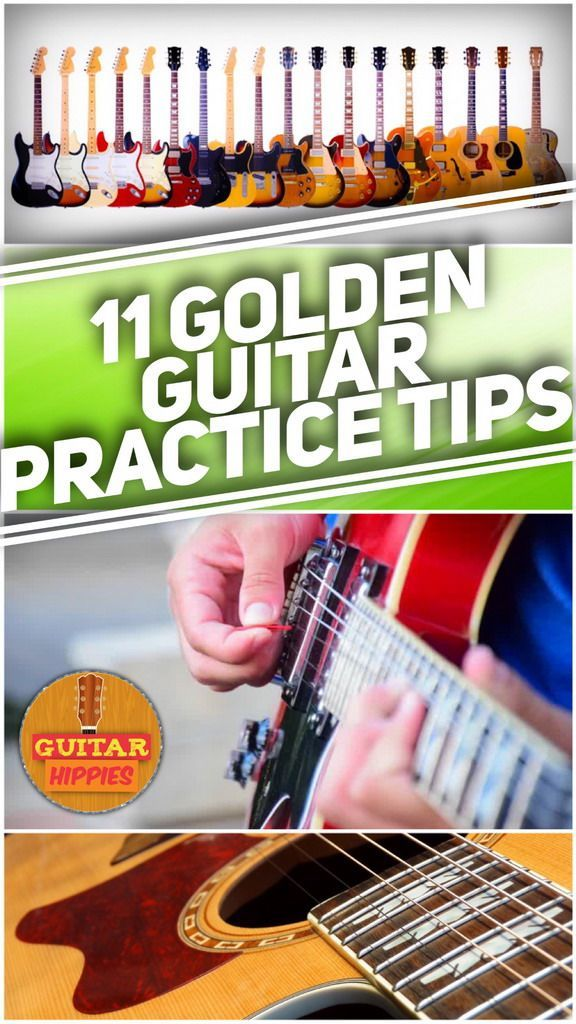 the best guitar practice tips, now from GuitarHippies