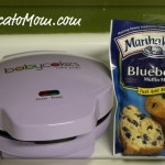 Blueberry Muffins using the Babycakes Cake Pops maker!