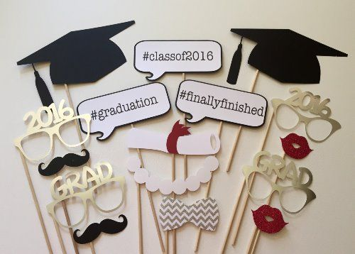 """Cover Story"" Themed Graduation Party Ideas - Photo op props"
