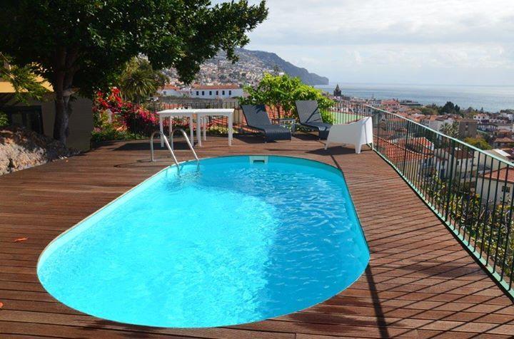 Piscina Waterair modelo Olívia na Madeira!