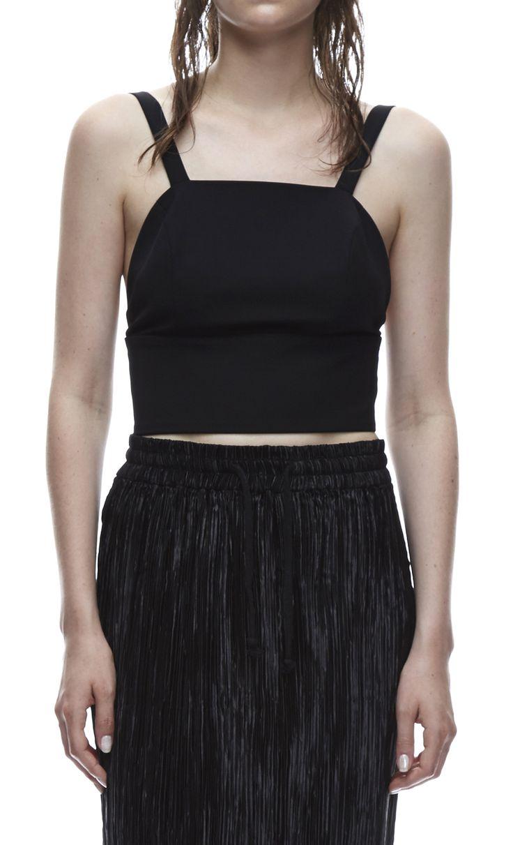 THIRD FORM SPRING 15 | BANDED CROP TOP  #thirdform #fashion #streetstyle #style #minimalism #trend #model #blackandwhite