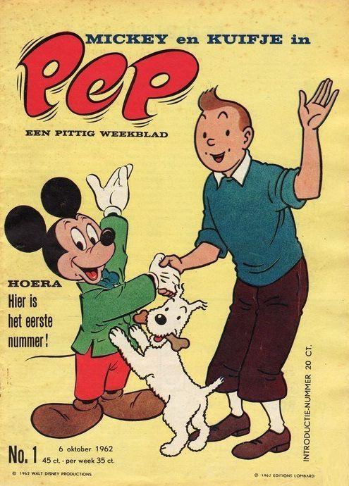 PEP het allereerste nummer: 6-10-1962