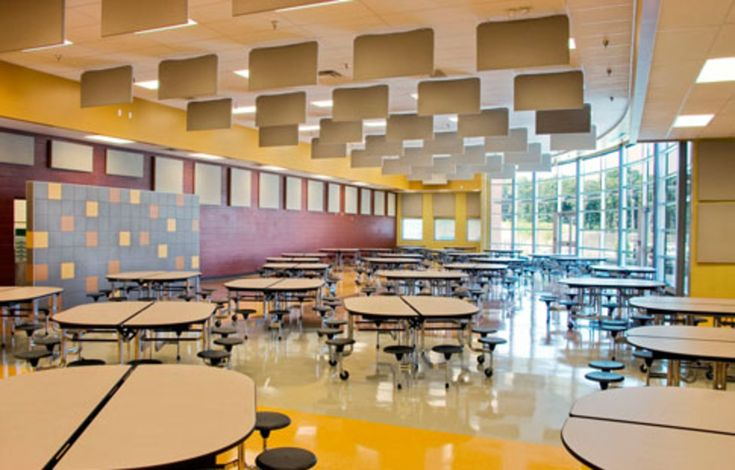 East Hamilton School Cafeteria  Natural Light Education Artech Design Group