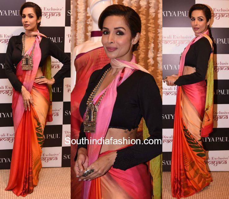Malaika Arora Khan in Satya Paul at the new collection launch photo