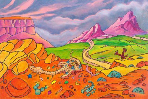 Firmado por Jason Becker y Gary Becker Art Print Jasons perspectiva (16x12) en.